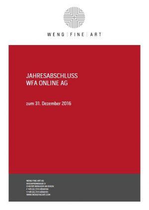 2016 Jahresabschluss Wfa Online Bild