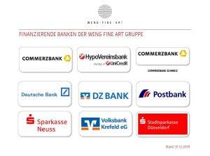 Finanzierende Banken 2019 12 31