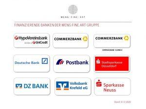 Finanzierende Banken 2020 12 31